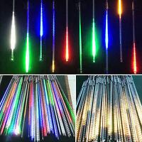 20/30/50CM Sternschnuppen LED Lichterkette Eiszapfen Weihnachtsbeleuchtung Xmas