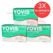 3X YOVIS STICK - Integratore Di Fermenti Lattici Vivi Da 50 Miliardi - 30
