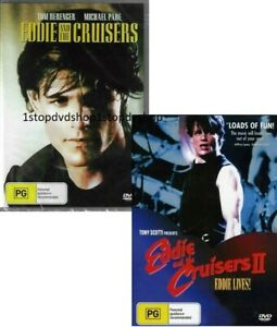 Eddie & the Cruisers Part 1 & 2 DVD Brand New and Sealed Australia