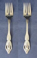 "Set Of Two - Oneida Stainless Flatware Raphael Serving Forks * ""Oneida"""