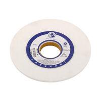 "5 6 Inch Ceramic Grinding Wheel Abrasive Disc White Corundum  5/4"" Bore 80 Grit"