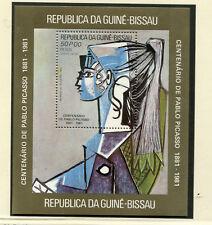 Picasso - Zwei Blocks aus Guinea Bissau  postfrisch **  (GE1)
