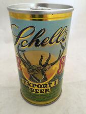 Schell's Deer Brand Export 1 Rare Vintage Steel Beer Can Opened Great Shape!
