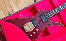 RARE Washburn HM-20V Guitar || Maroon Prototype ? OHSC || Wonderbar HM10V HM5V