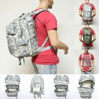 Army ACU Digital Camouflage Camp Tactical Military Style Pack Backpack w/ Molle