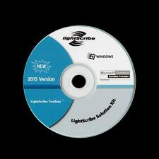 2015 LIGHTSCRIBE SOLUTION KIT TOOLBOX ADVANCED CD/DVD DISC LABELING FOR WINDOWS