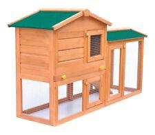 vidaXL 170162 Rabbit Hutch Cage - Wooden
