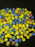 "Lot of 200 5/8"" Marble King Marbles Cateyes NOS"