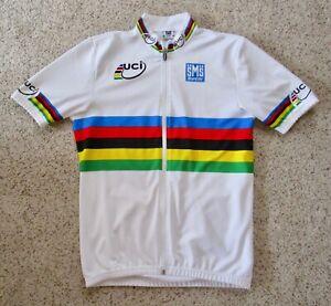 SMS Santini World Champion Men's Short Sleeve Cycling Jersey - Size XXL