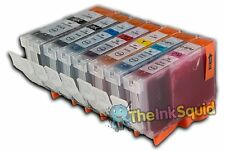 7 Canon PGI-5 CLI-8 Chipped Compatible Ink Cartridges