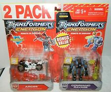 TRANSFORMERS ENERGON ARCEE & COMMAND RAVAGE DELUXE CLASS 2 PACK