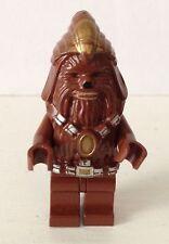 LEGO STAR WARS WOOKIE WARRIOR CHEWBACCA MINIFIGURE MINIFIG CMF 7258 7260 RARE !!