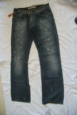 Original jeans MISS SIXTY usé  vintage 543345 bleu  taille 34 US 44 FR  neuf