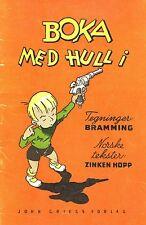 Boka Med Hull i Zinken Signe Marie Brochmann Hopp Frederik Bramming Stereotype