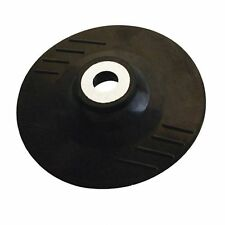 SILVERLINE 941859 ANGLE GRINDER RUBBER BACKING PAD FOR FIBRE DISC 115MM M14 x 2