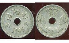 ROUMANIE  10 bani  1906 J
