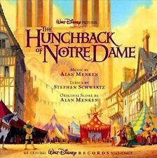 Walt Disney's THE HUNCHBACK OF NOTRE DAME [Soundtrack] (CD) - NEW! WOW! L@@K!