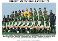 HIBERNIAN F.C.TEAM PRINT 1975 (HIBS)