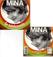 MINA. SE TELEFONANDO CD SINGOLO 2Tr Morricone