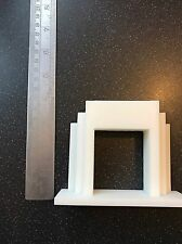 1/12th Dolls House Triang Odeon Fireplace Fire Art Deco Replica Upscaled L