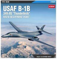 Academy 12620 USAF B-1B 34th BS Thunderbirds 1/144 Plastic Model Kit Toys_VA