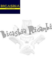 9253 - SET 7 PIÈCES CARÉNAGE BIANCO MBK OVETTO - YAMAHA NEO'S 50 '07/'14