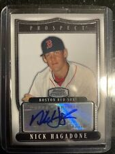 2007 Topps Bowman Sterling Prospects Nick Hagadone #BSP-NH Auto