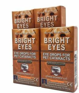 Ethos Eye Drops for Dogs and Animals with Cataracts 4 Boxes 40ml