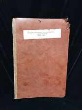 1974 Missouri Department Of Agriculture First Edition Brand Book Cattle SFB