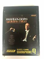 MANTOVANI Greatest Hits  LON L 7483 8 Track Tape Quadraphonic 4 Channel Slipcase