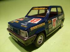 BBURAGO 1:24  FIAT PANDA  9147 -  OLIO FIAT  -  IN GOOD CONDITION