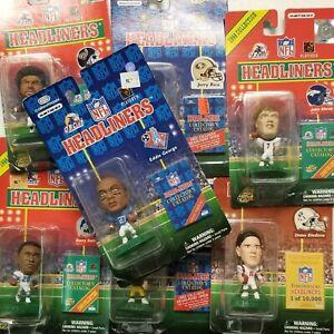 NFL Headliners Various Football Players
