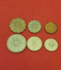 Iraq , Irak 1 , 5 , 10 , 25 , 50 , 100  Fils 1959 Münze Coin