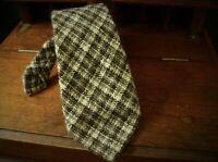 Mens Vintage Country Wool Tweed Tie tweedmill jacob