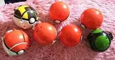 7 X Pokeball TOMY Pokemon Figures Duskball - Save £2 Multibuy