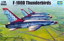 Trumpeter 1/48 F-100D Thunderbirds   #02822 #2822
