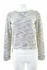 ABERCROMBIE & FITCH Womens Jumper Sweater Size 6 XS Grey Loose Fit  IS05