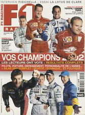 F1 RACING n°46 12/2002 BILAN F1 2002 FISICHELLA LOTUS 49