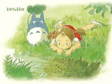 150 piece Jigsaw puzzle My side Totoro Beside Brook [Mame puzzle]