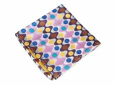 Lord R Colton Masterworks Pocket Square - Biscayne Pink Silk - $75 Retail New