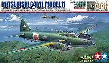 1/48 Tamiya Mitsubishi G4M1 Type1 (Betty) Yamamoto Transport W/17 figs #61110