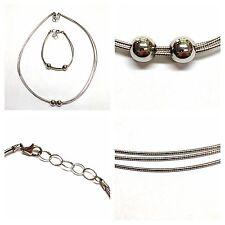 Set collana bracciale argento 925er Gioielli silberset rodiato