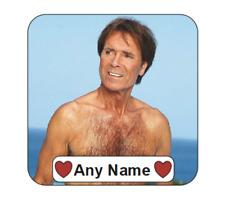 Personalised Cliff Richard Mug Coaster drinks coasters cliff richards
