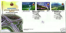 First Day Cover - Malaysia (1999) - Xxist World Road Congress Fdc