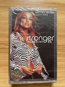 Britney Spears stronger China 1st Press Cassette Sealed Rare