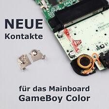 NEUE Mainboard Batteriekontakte für GameBoy Color GBC PCB Leiterplatte Ersatz