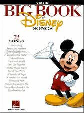 Big Book of Disney Songs Violin Sheet Music Book 72 Tunes SAME DAY DISPATCH