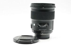 Sigma AF 50mm f1.4 DG HSM Art Lens Nikon F #043