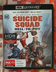 Suicide Squad: Hell to Pay 4K UHD + Blu-Ray AUS Region B