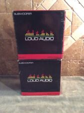 "New listing Lot 2 Loud Audio 8"" Car Subwoofer Sc8.1 450 Watts 4 Ohm New"